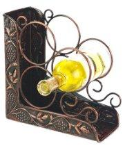 Bottle Wine Rack Bookend